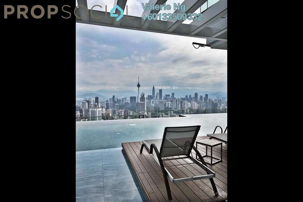 Condominium For Rent in The Sentral Residences, KL Sentral Freehold Fully Furnished 3R/3B 6.5k