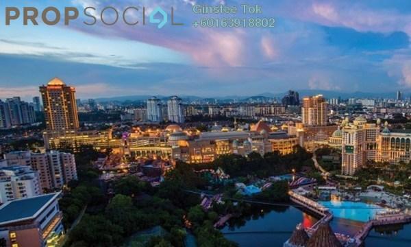 Condominium For Rent in Sunway Geo Residences 2, Bandar Sunway Freehold Unfurnished 1R/1B 2.2k