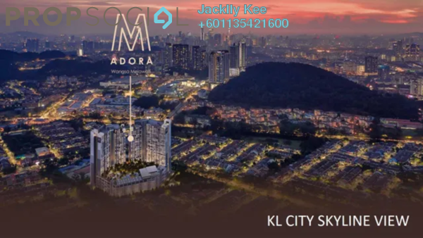 Condominium For Sale in M Adora, Wangsa Maju Freehold Semi Furnished 4R/3B 550k