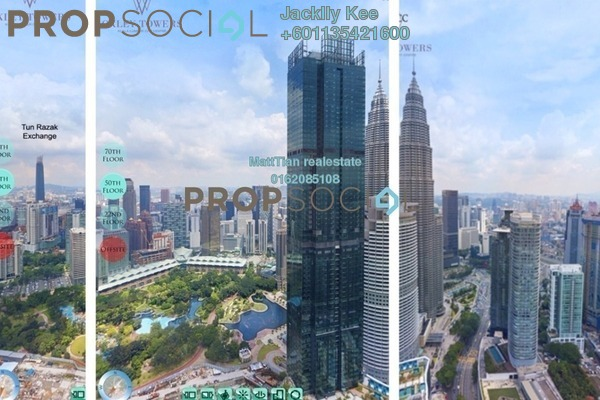 Condominium For Sale in Oxley Towers, Kuala Lumpur Freehold Fully Furnished 3R/2B 2m