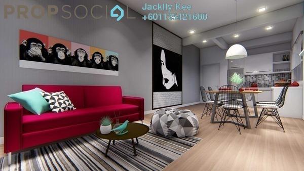 Condominium For Sale in GrenePark Village, Semenyih Freehold Fully Furnished 3R/2B 350k