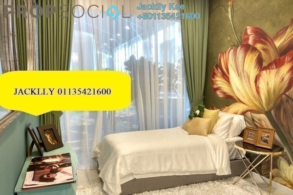 Condominium For Sale in Parc 3, Cheras Freehold Semi Furnished 3R/2B 700k