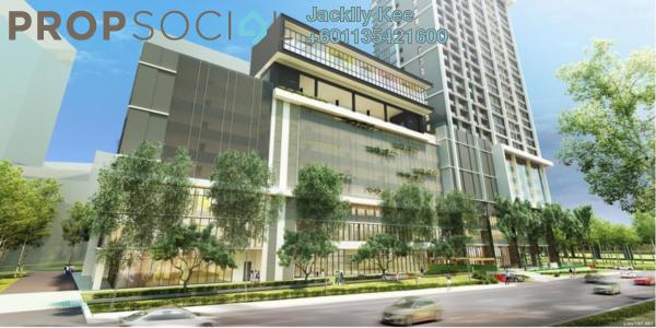 Condominium For Sale in Kuchai East, Kuchai Lama Freehold Semi Furnished 2R/2B 444k