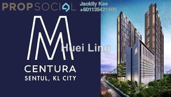 Condominium For Sale in M Centura, Sentul Freehold Unfurnished 2R/2B 349k