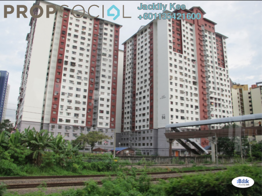 Serviced Residence For Rent in Putra Ria Apartment, Bangsar Freehold Unfurnished 3R/2B 1.5k
