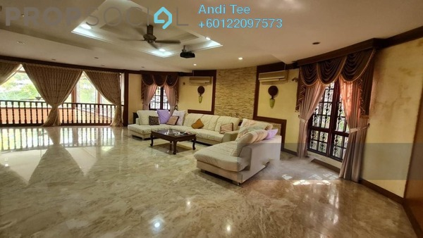 Bungalow For Sale in Bukit Jalil Golf & Country Resort, Bukit Jalil Freehold Semi Furnished 6R/6B 6.5m
