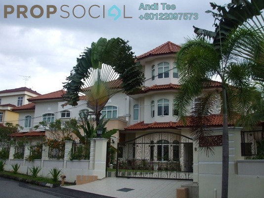 Bungalow For Sale in Bukit Jalil Golf & Country Resort, Bukit Jalil Freehold Semi Furnished 9R/6B 6.5m
