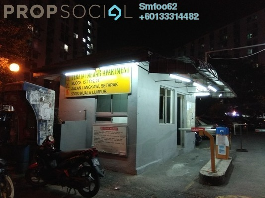 Apartment For Rent in Teratai Mewah Apartment, Setapak Freehold Semi Furnished 3R/1B 950translationmissing:en.pricing.unit