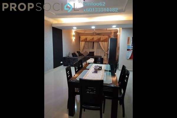 Condominium For Sale in Bistari, Putra Freehold Fully Furnished 4R/2B 580k
