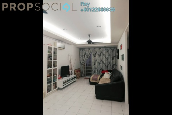 Apartment For Sale in Vista Mutiara, Kepong Freehold Semi Furnished 3R/2B 408k