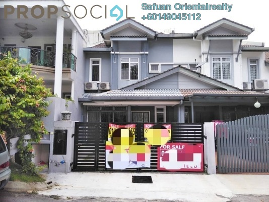 Terrace For Sale in Taman Sierra Ukay, Ampang Jaya Leasehold Semi Furnished 4R/3B 800k