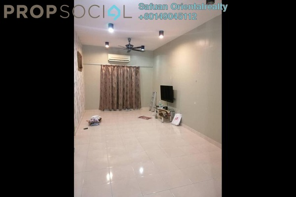 Condominium For Sale in Kristal Heights, Shah Alam Freehold Unfurnished 3R/2B 410k