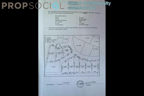 Land For Sale in Sungai Buloh Country Resort, Sungai Buloh Freehold Unfurnished 0R/0B 463k
