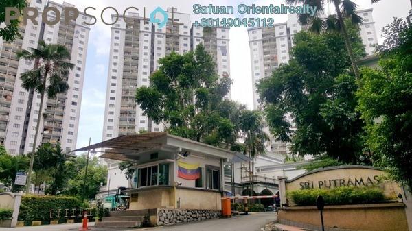 Condominium For Sale in Sri Putramas I, Dutamas Freehold Semi Furnished 3R/2B 470k
