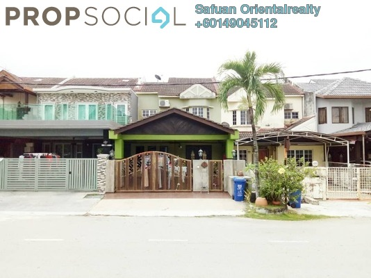 Terrace For Sale in Taman Alam Megah, Shah Alam Freehold Semi Furnished 4R/3B 600k