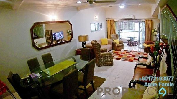 Duplex For Sale in Seri Maya, Setiawangsa Freehold Semi Furnished 4R/2B 1.05m