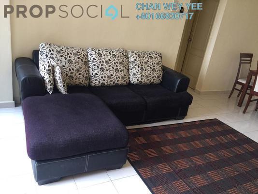 Condominium For Rent in Sentul Utama Condominium, Sentul Freehold Semi Furnished 3R/2B 1.5k
