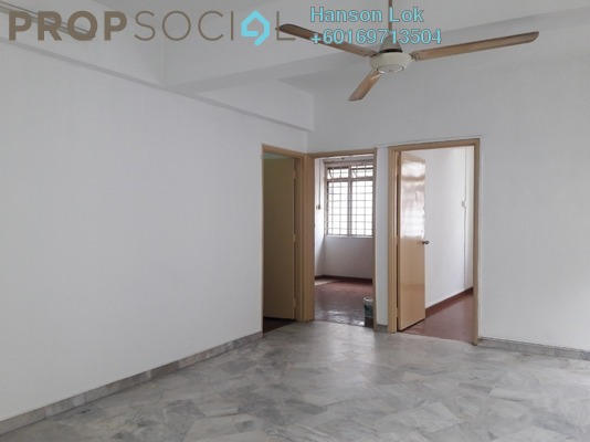 Apartment For Sale in Taman Pusat Kepong, Kepong Freehold Semi Furnished 3R/2B 228k