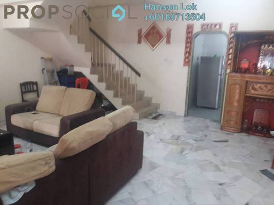 Terrace For Sale in Taman Daya, Kepong Freehold Semi Furnished 4R/3B 610k