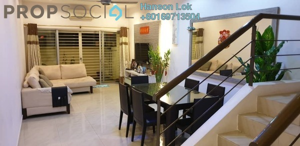 Townhouse For Sale in Villa Mas 2, Jalan Ipoh Freehold Semi Furnished 3R/3B 785k