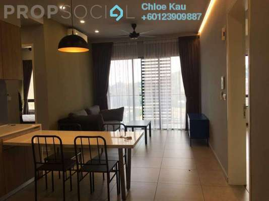 Condominium For Rent in The Petalz, Old Klang Road Freehold Fully Furnished 3R/2B 2.7k