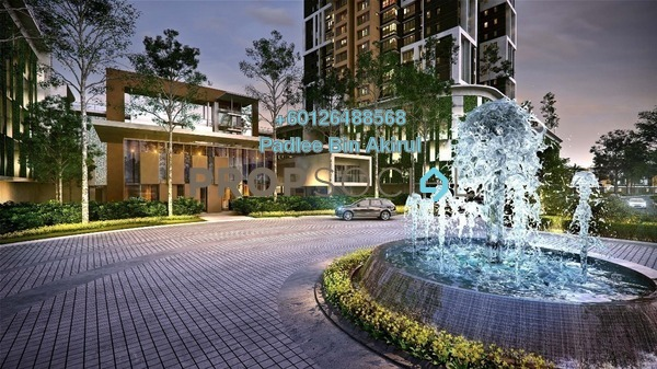 Condominium For Sale in Lake Point Residence, Cyberjaya Freehold Semi Furnished 3R/2B 503k