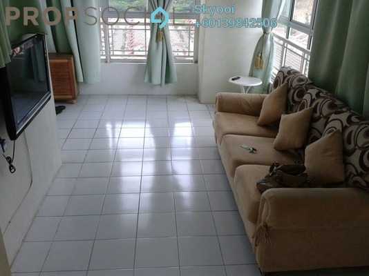 Condominium For Rent in Plaza Ivory, Bukit Gambier Freehold Fully Furnished 3R/2B 1.2k