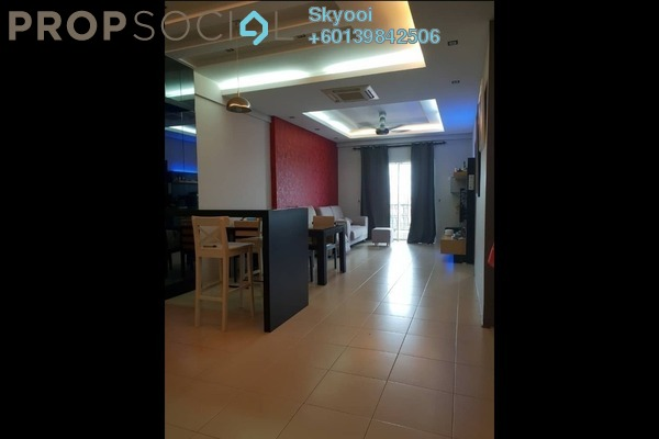 Condominium For Sale in Cassia, Butterworth Freehold Fully Furnished 4R/2B 435k