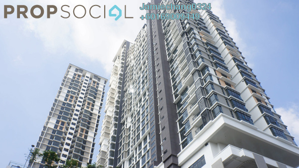 Condominium For Rent in Shamelin Star Serviced Residences, Cheras Freehold Semi Furnished 3R/2B 2.2k