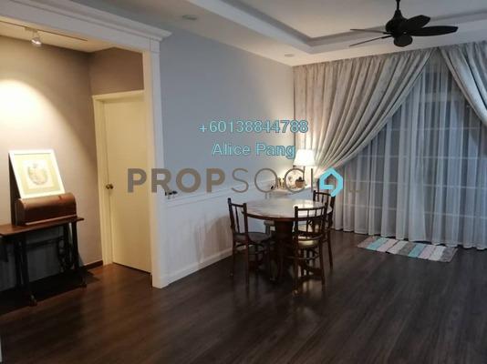 Condominium For Sale in Damai Villa, Georgetown Freehold Semi Furnished 3R/2B 880k