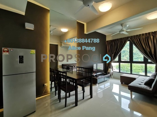 Condominium For Rent in Raffel Tower, Bukit Gambier Freehold Fully Furnished 1R/1B 1.5k