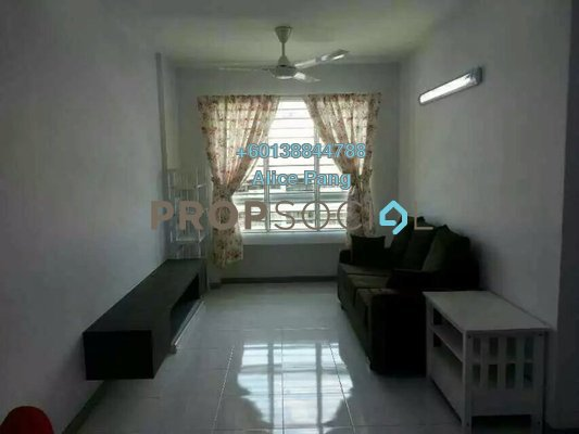 Condominium For Sale in Harmony View, Jelutong Freehold Fully Furnished 3R/2B 380k