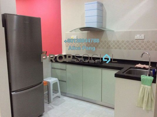 Condominium For Sale in Indah Bay, Tanjung Tokong Freehold Semi Furnished 2R/2B 380k