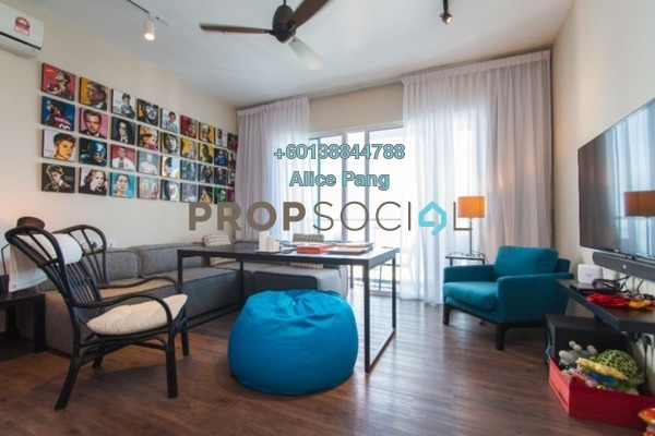 Condominium For Sale in Vertiq, Gelugor Freehold Fully Furnished 3R/2B 800k