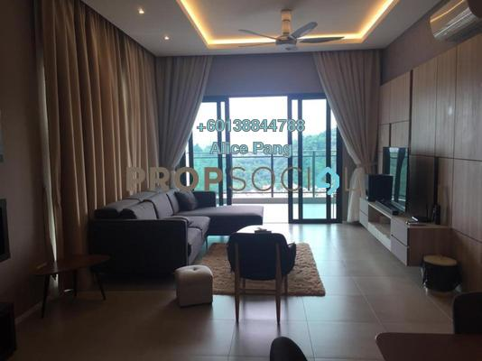 Condominium For Rent in Mira Residence, Tanjung Bungah Freehold Fully Furnished 3R/3B 4k