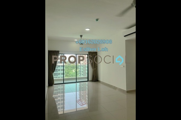 Condominium For Rent in Twinz Residences, Bandar Puchong Jaya Freehold Semi Furnished 3R/2B 1.6k