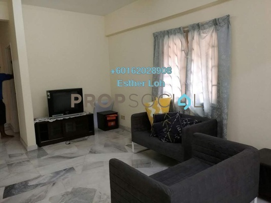 Condominium For Rent in Meadow Park 2, Old Klang Road Freehold Fully Furnished 3R/2B 1.2k