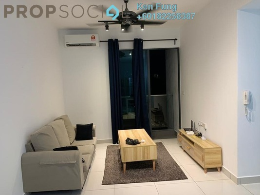 Condominium For Rent in Trinity Aquata, Sungai Besi Freehold Fully Furnished 3R/2B 1.8k