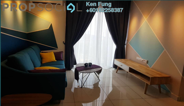 Condominium For Rent in Trinity Aquata, Sungai Besi Freehold Semi Furnished 3R/2B 2.1k