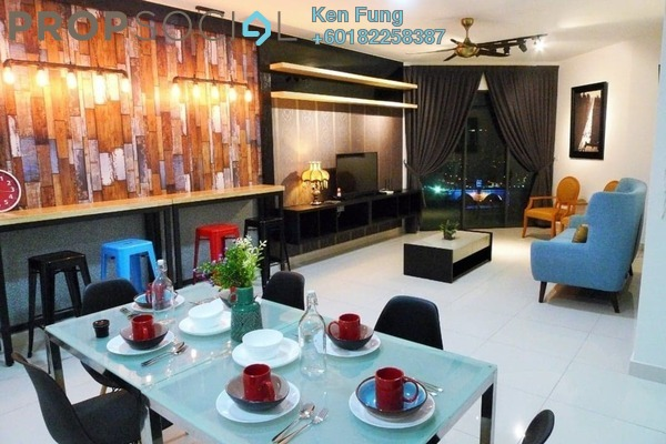 Condominium For Rent in Trinity Aquata, Sungai Besi Freehold Fully Furnished 3R/2B 3k