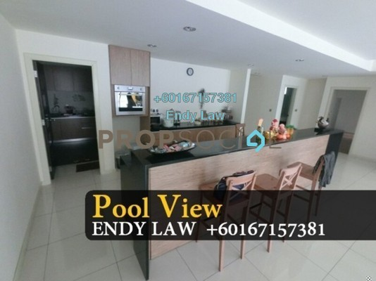 Condominium For Sale in East Ledang, Iskandar Puteri (Nusajaya) Freehold Semi Furnished 4R/4B 955k