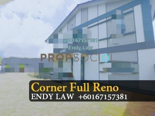 Terrace For Sale in Taman Bukit Indah, Old Klang Road Freehold Fully Furnished 3R/3B 850k