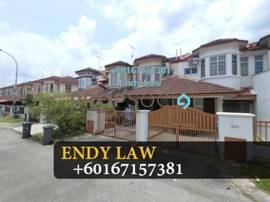 Terrace For Sale in Taman Bukit Indah, Old Klang Road Freehold Semi Furnished 3R/2B 480k