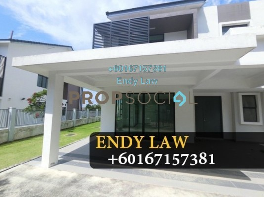 Semi-Detached For Sale in Nusa Idaman, Iskandar Puteri (Nusajaya) Freehold Unfurnished 6R/5B 945k