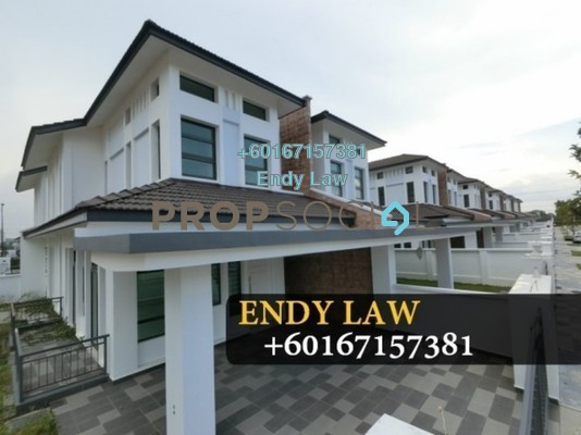 Semi-Detached For Sale in Eco Botanic, Skudai Freehold Fully Furnished 5R/5B 950k