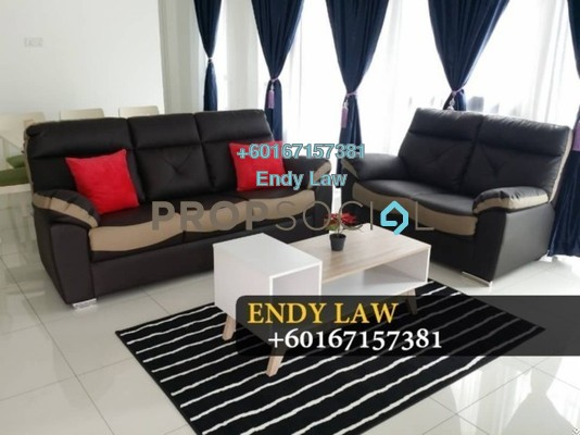 Semi-Detached For Sale in Eco Botanic, Skudai Freehold Fully Furnished 5R/5B 960k
