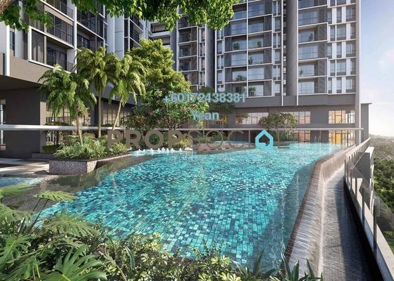 Serviced Residence For Sale in The Arcuz, Kelana Jaya Freehold Fully Furnished 2R/2B 682k
