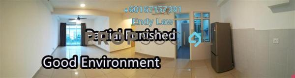 Condominium For Rent in Austin Suites, Tebrau Freehold Semi Furnished 3R/2B 1.8k