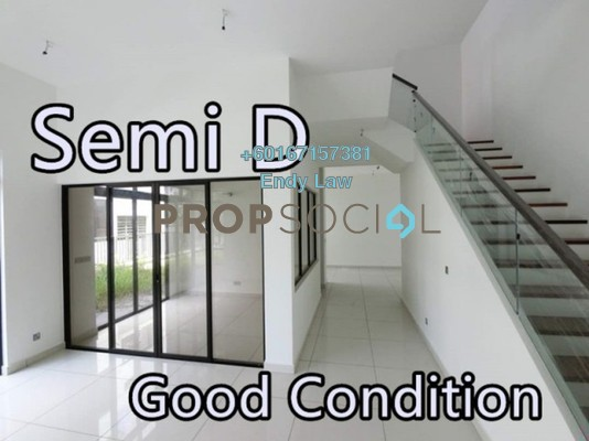 Semi-Detached For Sale in The Canal Garden, Horizon Hills Freehold Unfurnished 5R/5B 1.35m