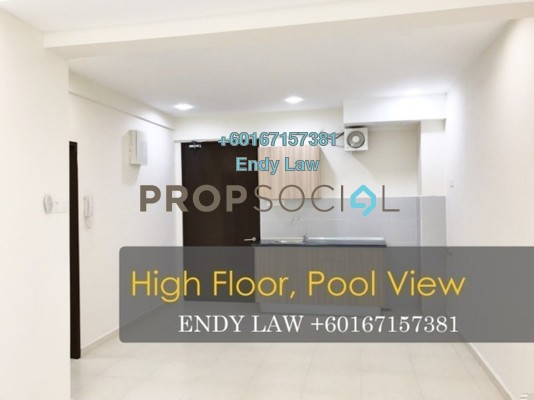 Condominium For Sale in The Garden Residences, Skudai Freehold Semi Furnished 1R/1B 270k